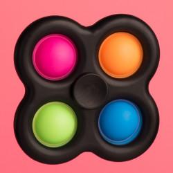 Fidget Spinner - čierny