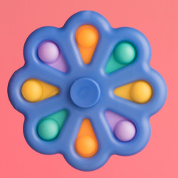 Fidget Spinner - modrý