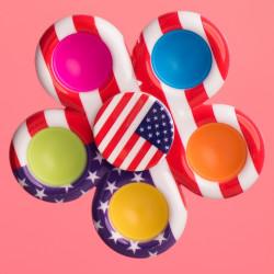 Fidget Spinner - vlajka USA